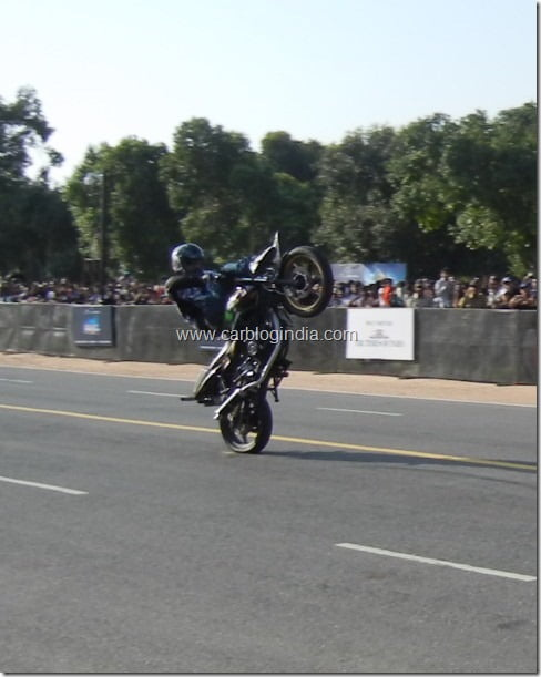 Red Bull F1 Racing Car Assembly And Street Run On Rajpath Delhi– Exclusive Pictures And Videos