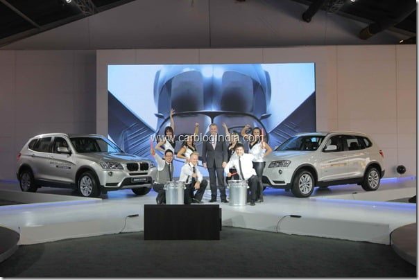 Dr Andreas Schaaf, President, BMW India at BMW Xperience