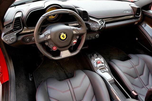 2013 Ferrari 458 Spider 458 Italia Convertible Sports Car Unveiled