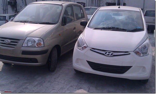 Hyundai Eon Clear Spy Shots (10)