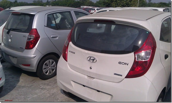 Hyundai Eon Clear Spy Shots (1)