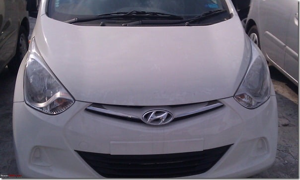 Hyundai Eon Clear Spy Shots (2)