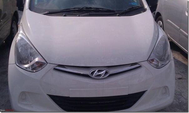 Hyundai Eon Clear Spy Shots (2)