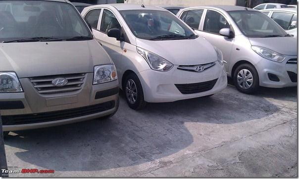 Hyundai Eon Vs Hyundai Santro Vs Hyundai i10– Side By Side Picture Comparison