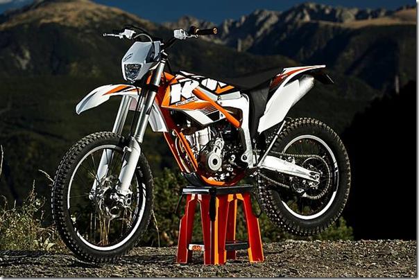 KTM Freeride 350 CC Enduro Dirt Bike