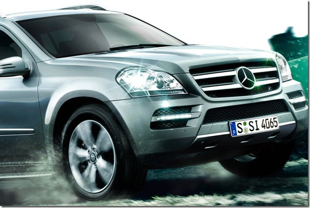 Mercedes Benx SUV-Coupe Crossover BMW X6 Rival