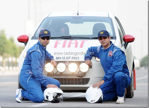 On Left- Pavan Choudhary and Right- Captain Nitin Anand..