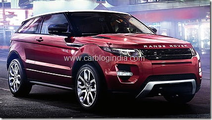Range Rover Evoque India