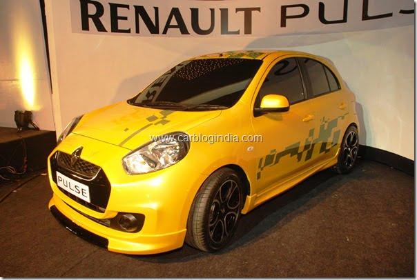 Renault Pulse Small Car India