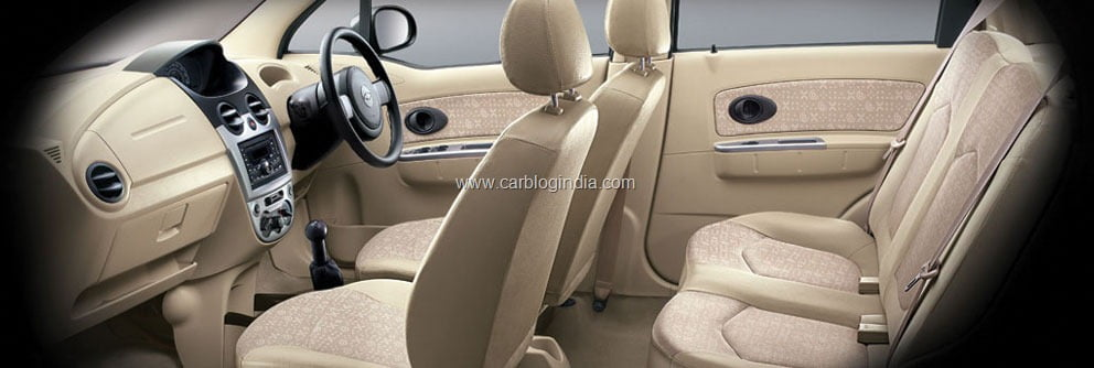 features india chevrolet linen spark beige car specifications price