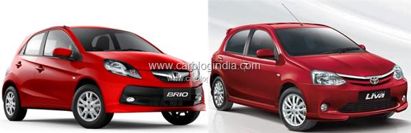 Honda Brio Vs Toyota Etios Liva Petrol- Which Hatchback Is Worth Your Money?