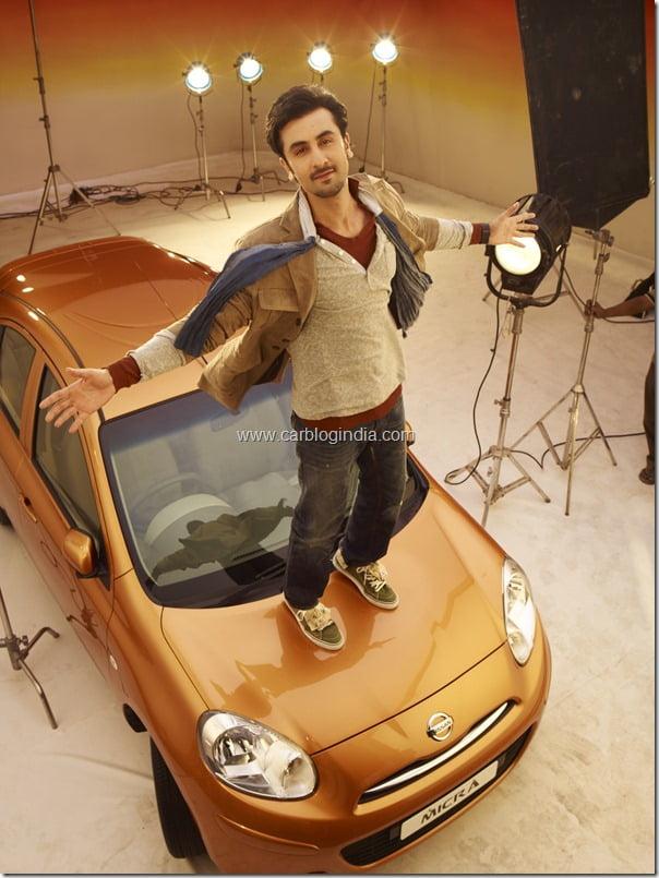 Nissan Micra Ranbeer Kapoor Bollywood