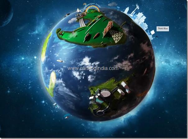 volkswagen India Interactive Volkswagen Planet Website1