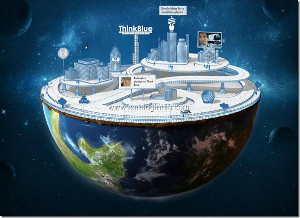 volkswagen India Interactive Volkswagen Planet Website