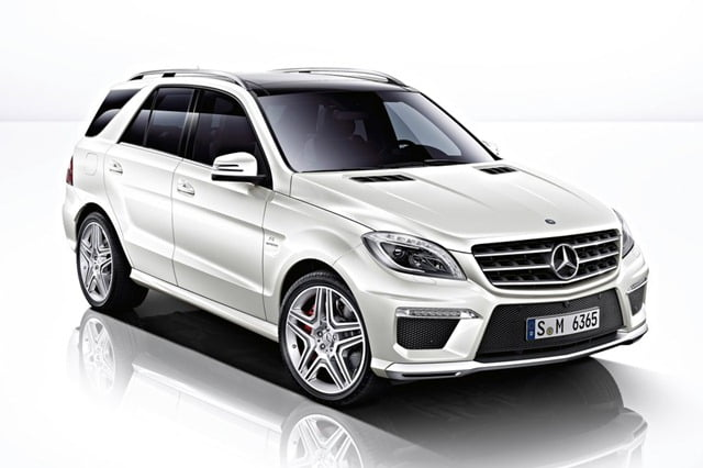 Mercedes-Benz ML63 AMG India Launch on 15th May