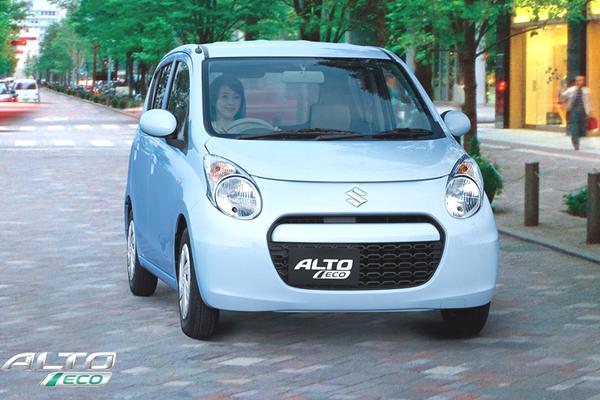 2012 Suzuki ALto Eco 660 CC front