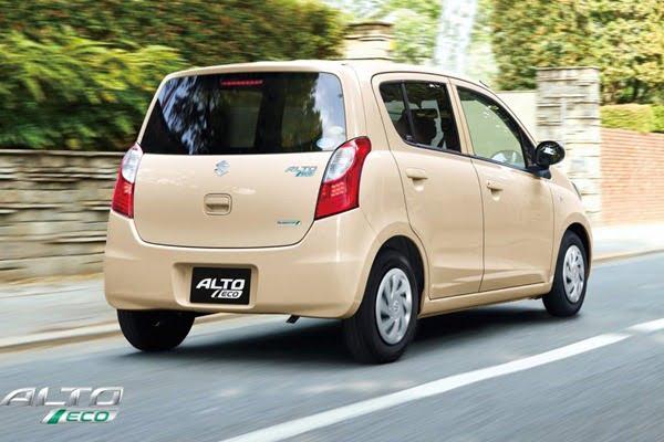 2012 Suzuki ALto Eco 660 CC rear
