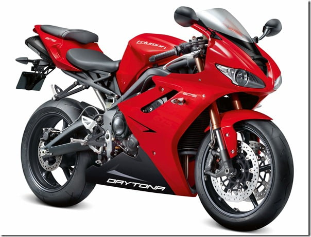 2012-Triumph Daytona Sports Bike