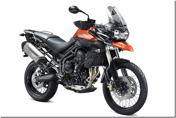 2012 Triumph Tiger 800XC Off Road Bike
