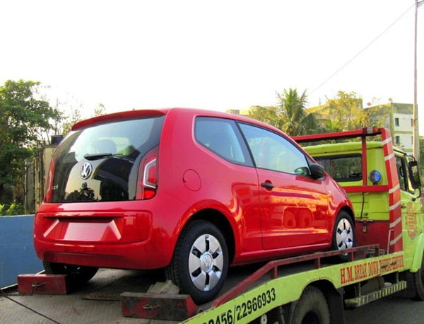2012 Volkswagen Up India
