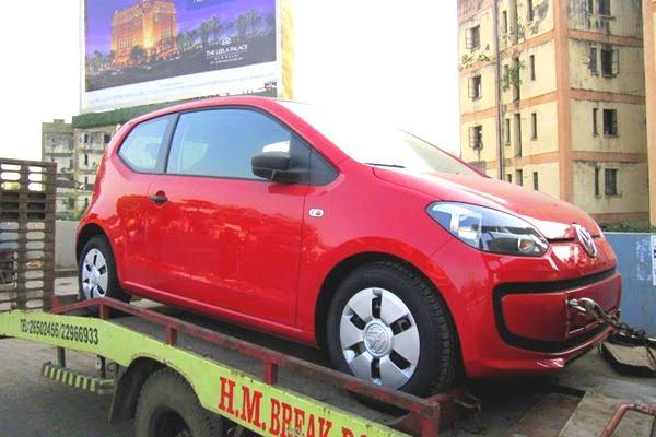 2012 Volkswagen Up India front