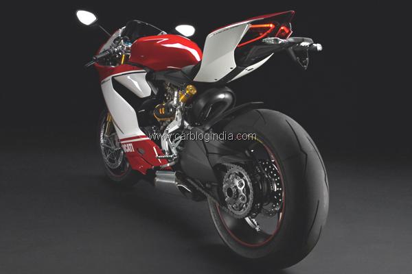 Ducati 1199 Panigale rear