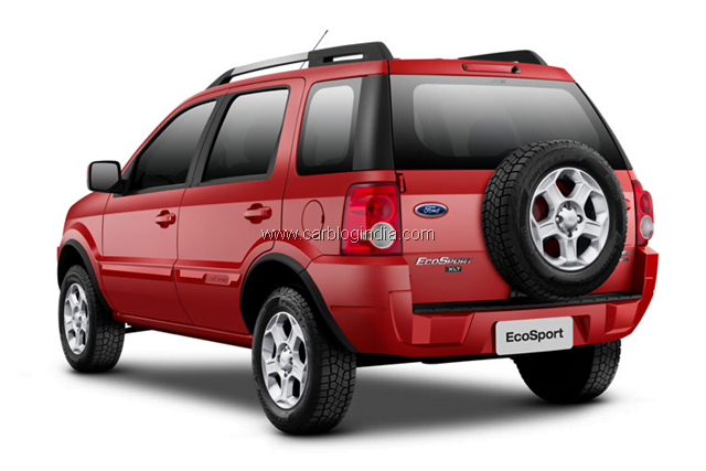 ford ecosport compact suv in india to compete with renault duster. Black Bedroom Furniture Sets. Home Design Ideas