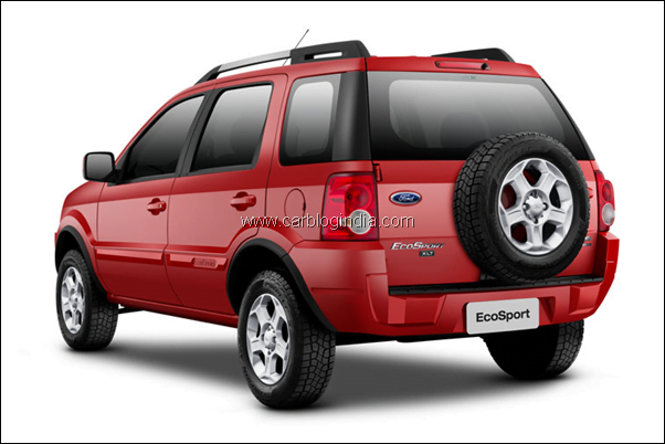 Ford Ecosport SUV rear