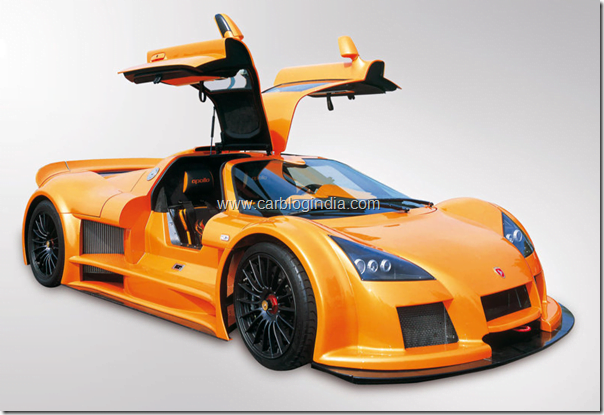 Gumpert Apollo exteriors