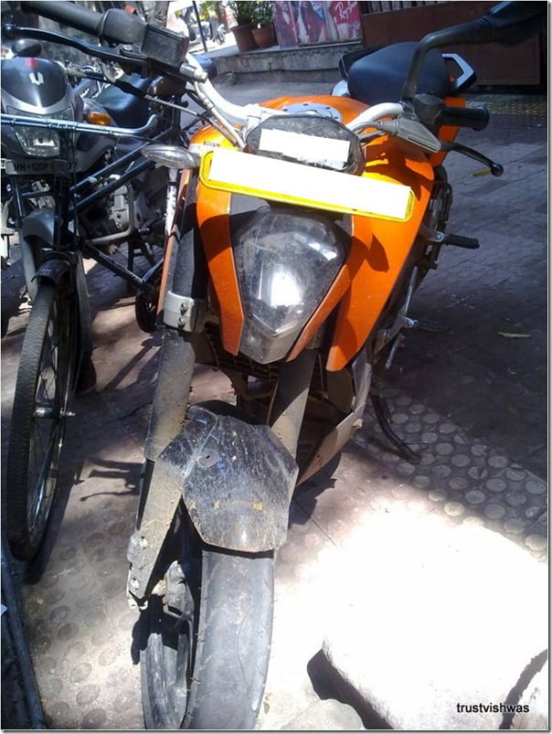 KTM Duke 200 Spy Pictures India (3)