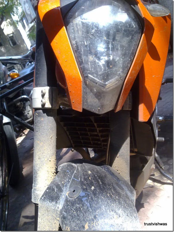 KTM Duke 200 Spy Pictures India (9)