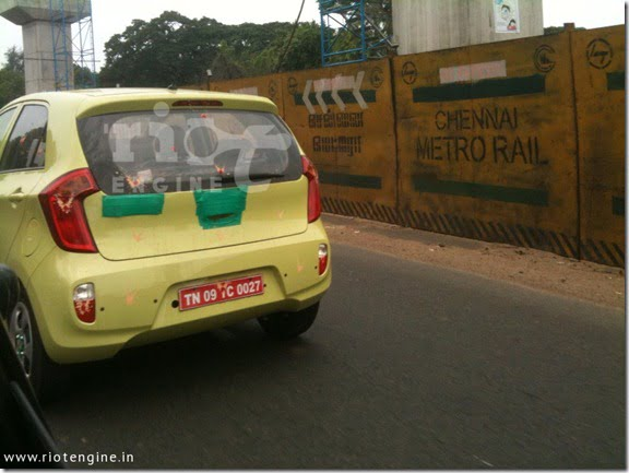 Kia Picanto Spied Testing In India- Is Kia Planning To Launch It In India?