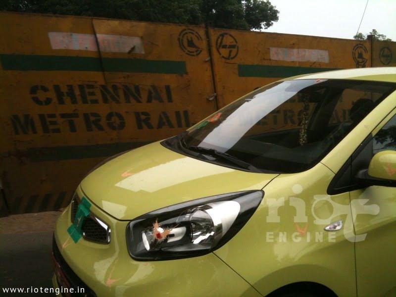 Kia To Launch Picanto In India In Auto Expo 2012 Caught Testing In