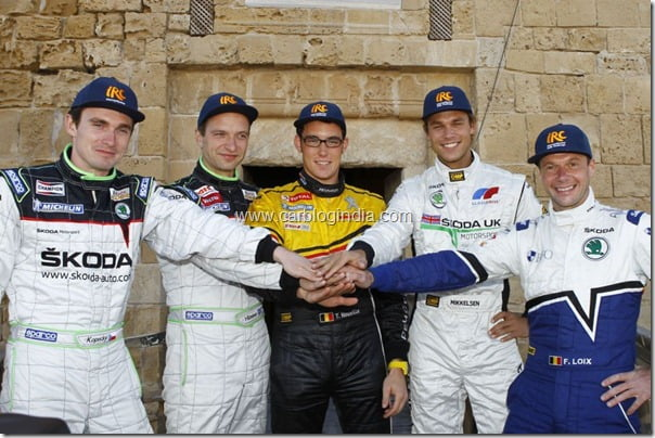 Skoda Fabia Super 2000 With Andreas Mikkelsen Becomes 2011 IRC Champion