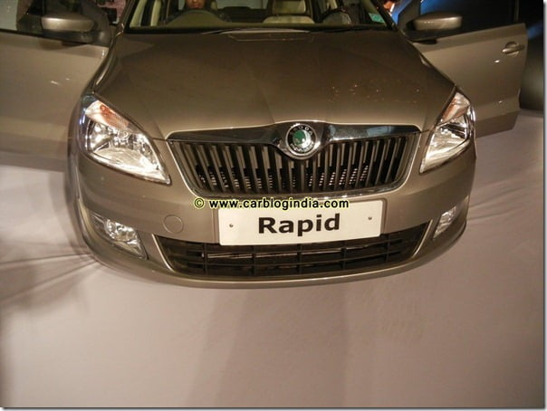 Skoda Rapid India Interior and Exterior Pictures (4)