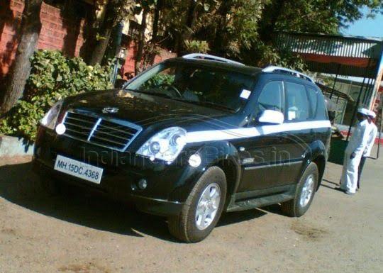 Ssangyong-Rexton SUV India