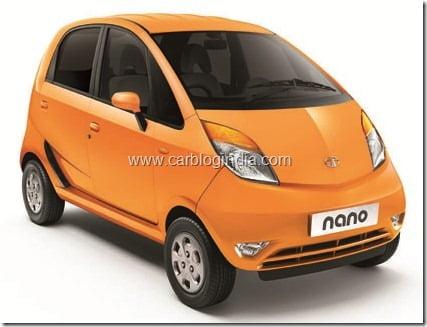 Tata Nano LX - Papaya Orange