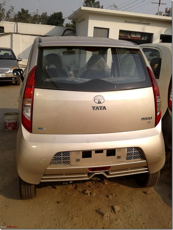Tata Nano New Model India (1)