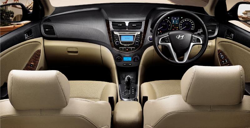 Confused B W Skoda Rapid Petrol And Hyundai Verna Fluidic
