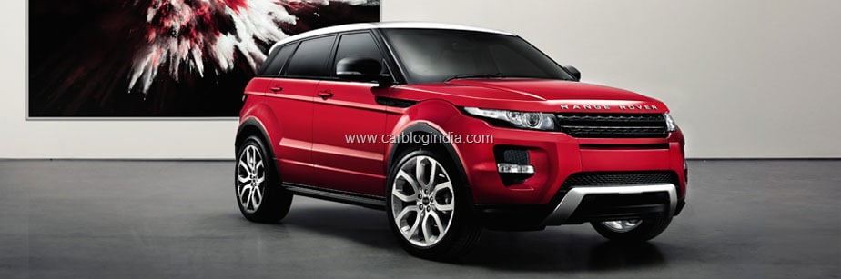 Range Rover Evoque Launched In India At Rs 44 75 Lakhs