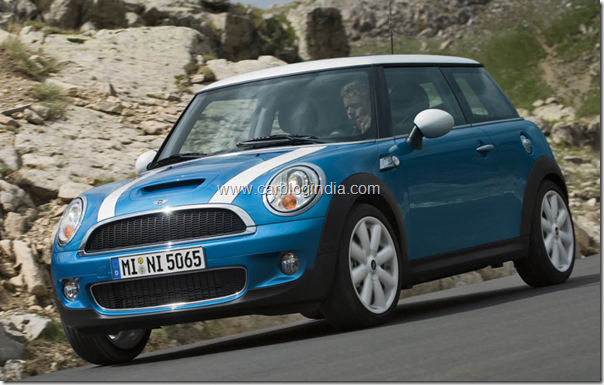 mini cooper 3 door hatchback