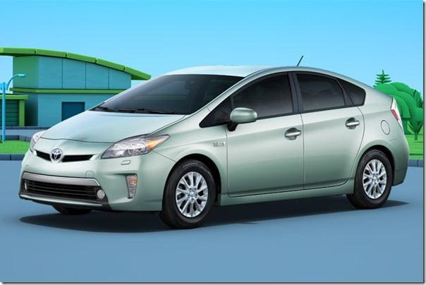 2011 Toyota Prius Exterior front