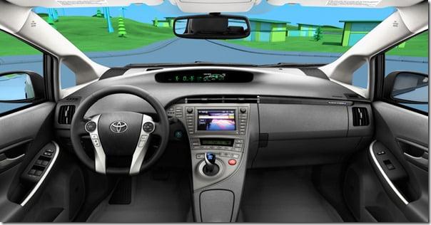 2011 Toyota Prius Exterior interior