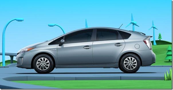 2011 Toyota Prius Exterior side