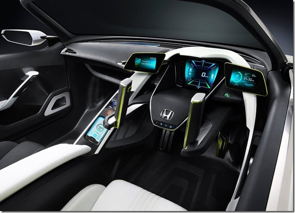 2012 Honda EV-Ster Electric Car Concept interior