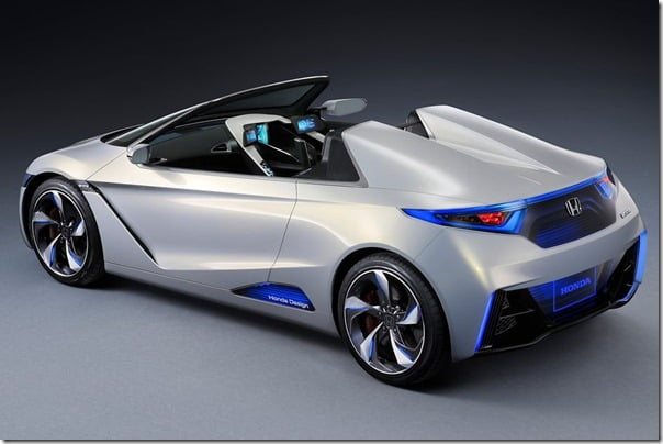 2012 Honda EV-Ster Electric Car Concept rear