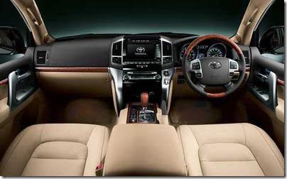 2012 Toyota Land Cruiser interiors