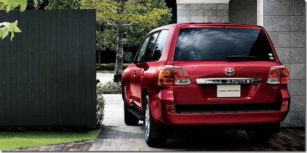 2012 Toyota Land Cruiser rear