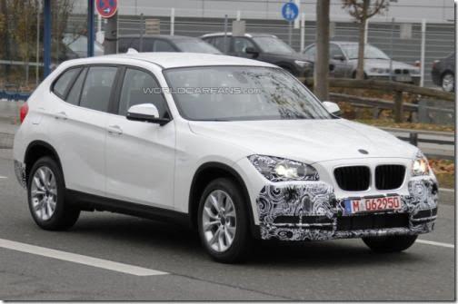 2013 BMW X1 front