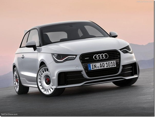 Audi A1 Quattro 2013 Special Edition With 256 BHP Power and All Wheel Drive– Details and Pictures